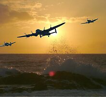 The Battle of Britain Memorial Flight by Colin  Williams Photography