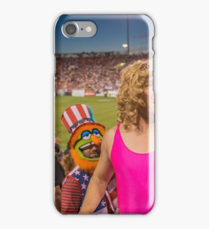 Miss Piggy entertains the crowd iPhone Case/Skin