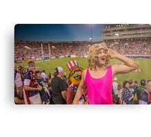 Miss Piggy entertains the crowd Metal Print