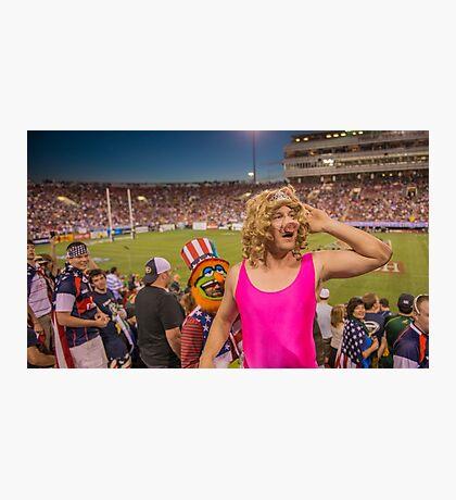 Miss Piggy entertains the crowd Photographic Print