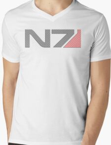 Carbon Fiber N7 MkII Mens V-Neck T-Shirt