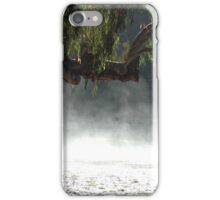 Mist in the bush. iPhone Case/Skin