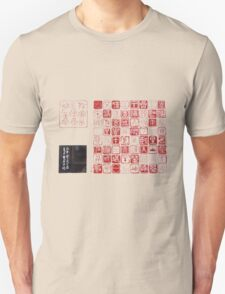 Japanese stamped T-Shirt