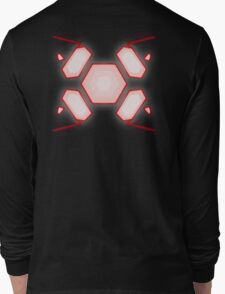 Dark Zero Suit Long Sleeve T-Shirt