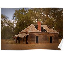 Give me a home among the gumtrees Poster