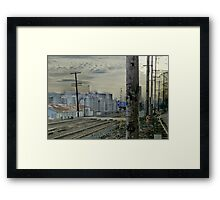 the 'burbs of industry' Framed Print