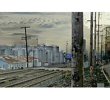 the 'burbs of industry' Photographic Print
