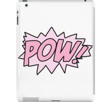 Comic Book Pow! iPad Case/Skin