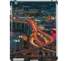 Portland Traffic at Dusk iPad Case/Skin