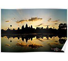 "Siem Riep, Cambodia: ""Angkor Wat"" Poster"
