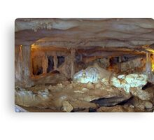 Underground Chamber Canvas Print
