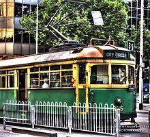 Old W Class Tram by Leonie Morris
