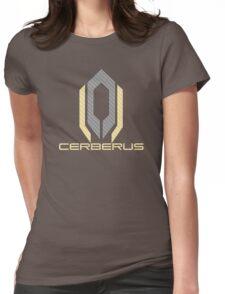 carbon fiber cerberus Womens Fitted T-Shirt