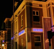 Amsterdam at Night5 Sticker