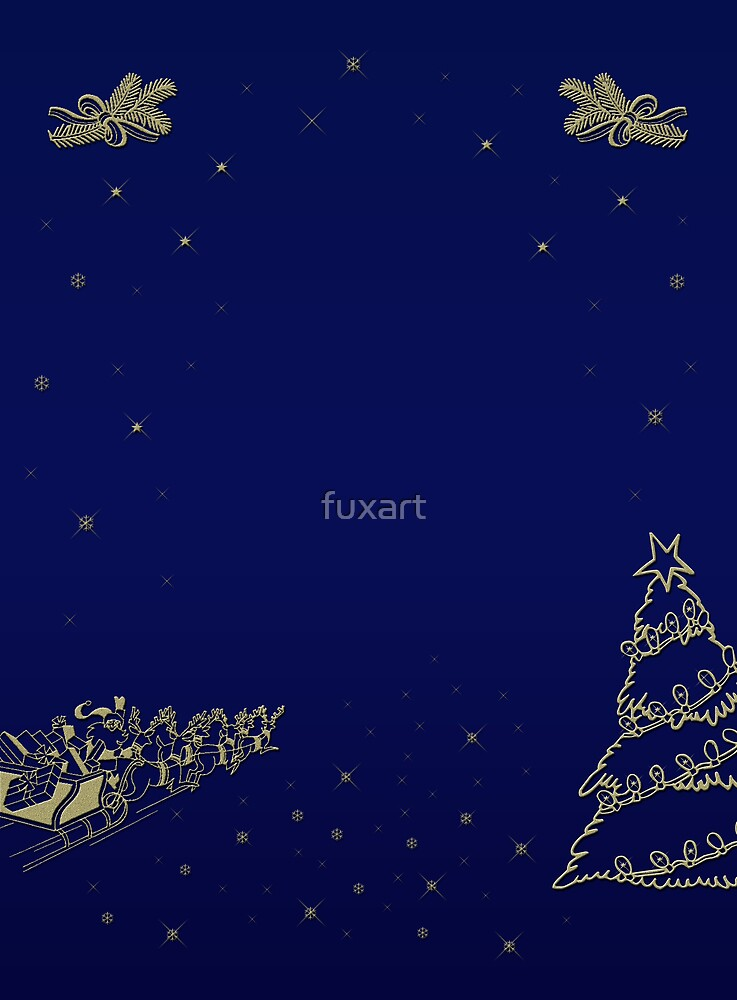 Merry Christmas and Happy New Year by fuxart