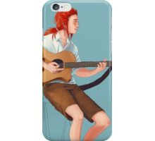 the flurry of playing wonderwall iPhone Case/Skin