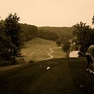 Golf on a Hill by AndrewLamb