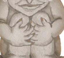 Happy Little Gargoyle Guy Sticker