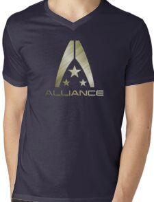 Metal Alliance Mens V-Neck T-Shirt