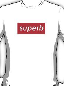 Superb, brand logo parody T-Shirt