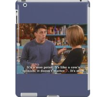 Moo Point Joey iPad Case/Skin