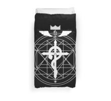 Fullmetal Transmutation - White Duvet Cover