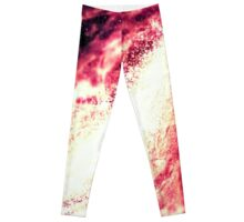 Cotton  Candy  galaxy interp. Leggings