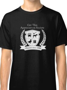 Get This Appreciation Society Crest - White Classic T-Shirt