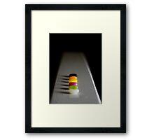 Choices Choices Framed Print