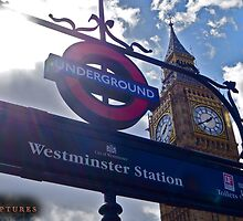 "London, England: ""Westminster Underground"" by basiccaptures"