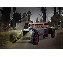 1930 Ford Rat Rod 'Last Rites' Photographic Print