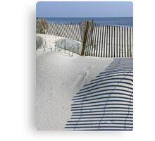 Fence Waves Canvas Print