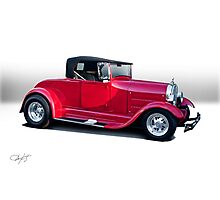 1929 Ford 'Classic Hot Rod Roadster' Photographic Print