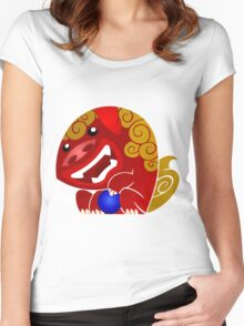 Foo-Dog - Male Women's Fitted Scoop T-Shirt