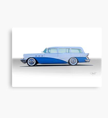 1956 Buick Century 'Low Rider' Wagon Metal Print