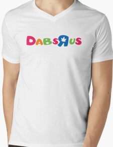 Dabs-R-us Mens V-Neck T-Shirt