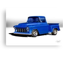 1956 Chevrolet 'Stepside' Pickup Canvas Print