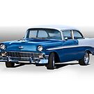1956 Chevrolet Bel Air Coupe by DaveKoontz