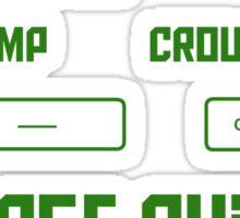 Gamer Controls Sticker