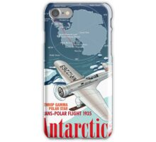The First Transpolar Flight by Lincoln Ellsworth iPhone Case/Skin