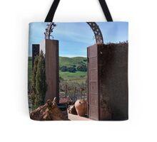 Garden Gateway at Viansa Winery, Sonoma Valley Tote Bag