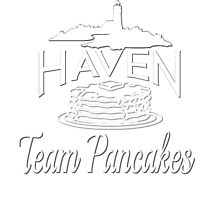 Haven Team Pancakes White Logo by HavenDesign