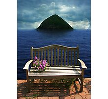 Rogers bench Photographic Print