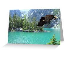 1063-Raptor Flight Greeting Card