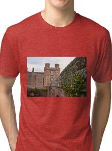 "Herstmonceaux, England: ""Herstmonceaux Castle"" Tri-blend T-Shirt"