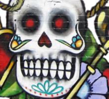 Skull & Roses-Graffit Art Sticker