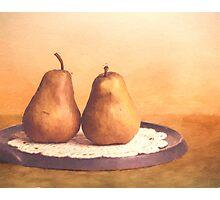 Primitive Pears Photographic Print