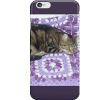 *Lily - forty winks* iPhone Case/Skin