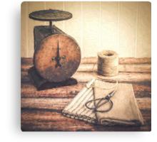 Primitive Textiles Canvas Print