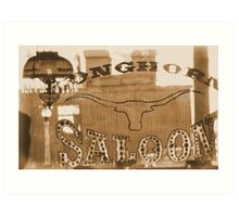 #629  The Saloon Art Print